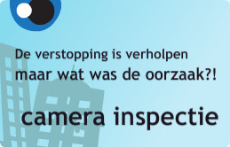 camera inspectie riolering