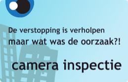 camera inspectie riolering